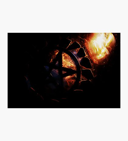 Elements of the Pentacle  Photographic Print