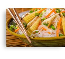 Chinese Dinner Canvas Print
