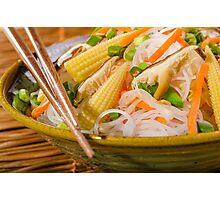 Chinese Dinner Photographic Print