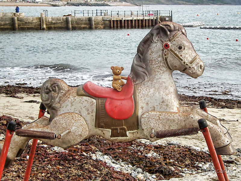 Ted Gets A Ride To The Seaside by lynn carter