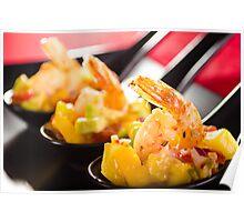 Chipotle Shrimp Appetizer Poster