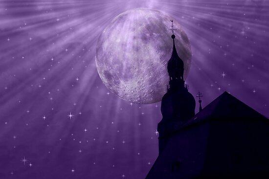 Starry Night - JUSTART © by JUSTART