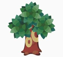 Animal Crossing Tree by jeice27