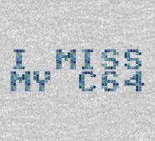 I (still) miss my C64 (boxy) One Piece - Short Sleeve