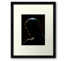 Ombre Et Lumiere ~ Part One Framed Print