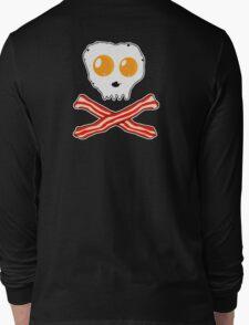 Bacon & Eggs Skull Long Sleeve T-Shirt