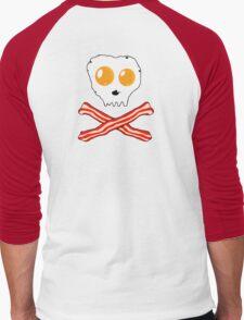 Bacon & Eggs Skull Men's Baseball ¾ T-Shirt