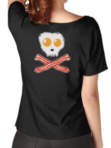 Bacon & Eggs Skull Women's Relaxed Fit T-Shirt