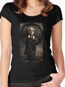 Sherlock Holmes ART NOUVEAU Women's Fitted Scoop T-Shirt