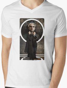 Sherlock Holmes ART NOUVEAU Mens V-Neck T-Shirt