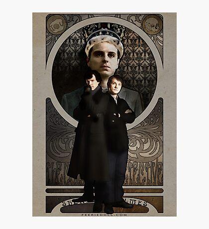 Sherlock Holmes ART NOUVEAU Photographic Print