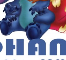 Lilo and Stitch - Ohana Sticker