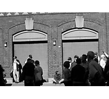 Fenway Park - Fans and Locked Gate Photographic Print