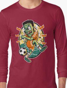 Frankensteino the Footballer Long Sleeve T-Shirt