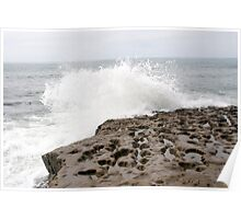 Sunset Cliffs Reef 2 Poster