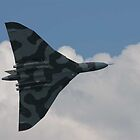 Vulcan bomber. by sandyprints