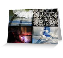 Elemental Forces Greeting Card