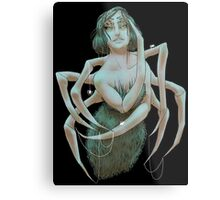 You Know That Tickle On Your Neck? Metal Print