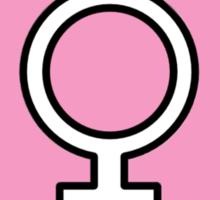 Heart Femme Sticker