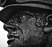 Face of a Welsh Miner by Heidi Stewart