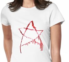 Marina Abramovic - bleeding star Womens Fitted T-Shirt
