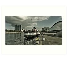 Waverley Glasgow Art Print