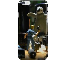 Infestation- penguin iPhone Case/Skin