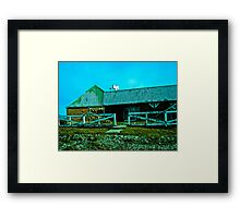 Old candy store. Framed Print