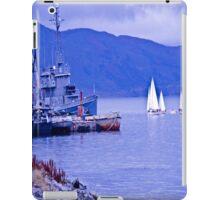 Sailboats end. iPad Case/Skin