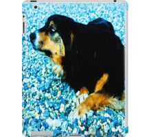 In the south with this beautiful dog. iPad Case/Skin