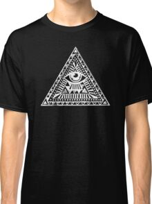 Aztec Illuminati Eyes Fashion Tumblr Classic T-Shirt