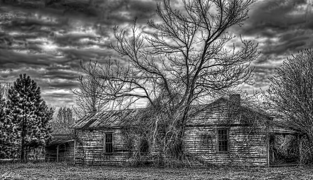 The Coming Storm (B&W) by Kyle Wilson