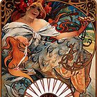 Mucha - Bicuits LeFevre-Utile by William Martin