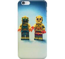 Mr & Mrs R Bot iPhone Case/Skin