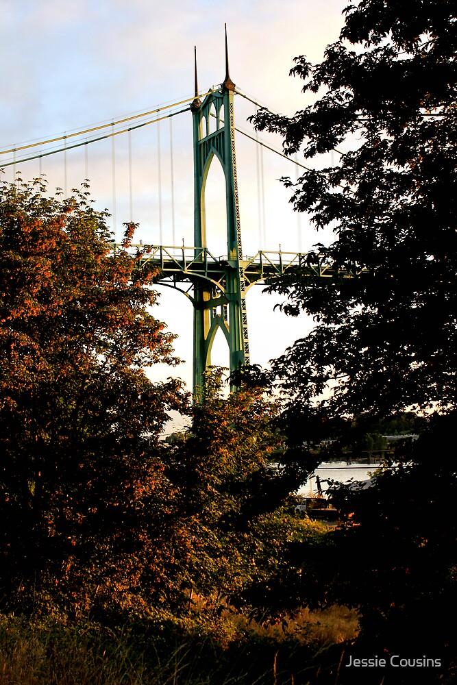 St. John's Bridge by Jessie Cousins