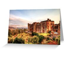 Muncaster Castle Greeting Card