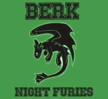 Berk Night Furies by Steve Stivaktis