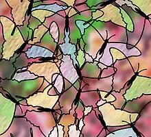 Butterfly Garden by ArtByRuta