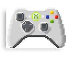 8Bit Xbox Controller Canvas Print