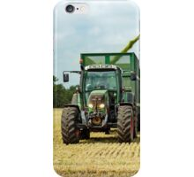 Farm Machinery, Forage Harvesting iPhone Case/Skin