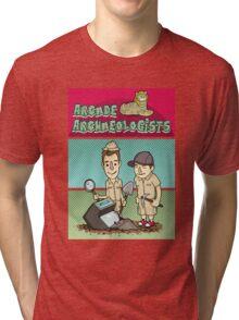 Arcade Archaeologists Tri-blend T-Shirt