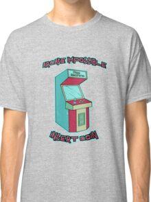 Insert Coin - Time Machine Classic T-Shirt