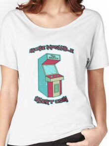 Insert Coin - Time Machine Women's Relaxed Fit T-Shirt