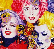 Bouquet Of Marilyn by Rebecca Glaze