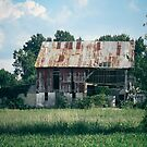 Crumbling Barn by comeinalone