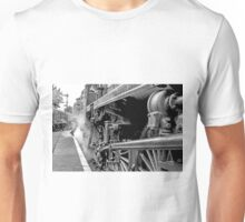 "Steam Engine ""All Aboard"" Unisex T-Shirt"