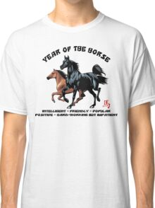 Chinese Zodiac Year of The Horse Classic T-Shirt
