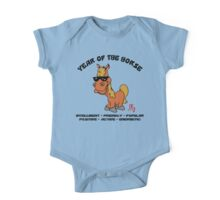 Funny Year of The Horse One Piece - Short Sleeve