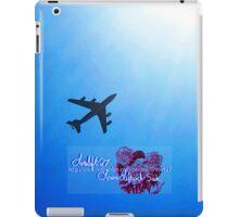 into the blue iPad Case/Skin