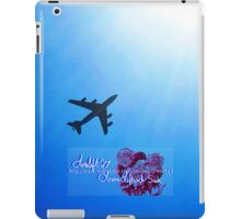 into the blue iPad Case/Skin
